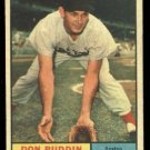 1961 Topps #99 Don Buddin Boston Red Sox baseball card