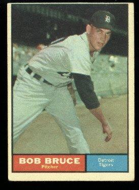 1961 Topps #83 Bob Bruce Detroit Tigers baseball card