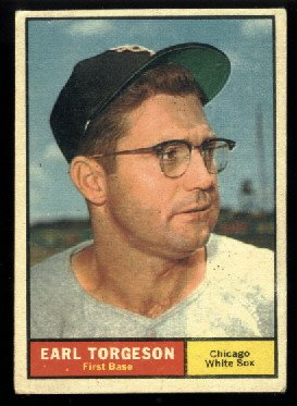 1961 Topps #152 Earl Torgeson Chicago White Sox baseball card