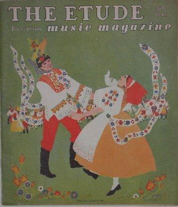 THE ETUDE music magazine   July 1947