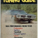 Motor HI-Performance Tuning Guide 1973    MOPAR     FREE SHIPPING