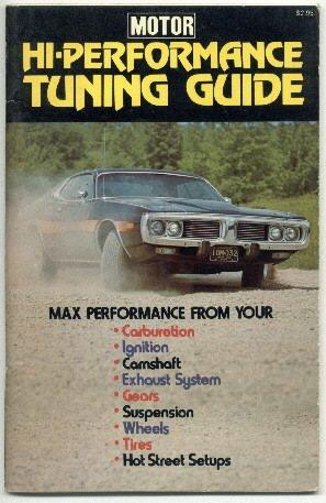 Motor HI-Performance Tuning Guide 1973    MOPAR     FREE SHIPPING