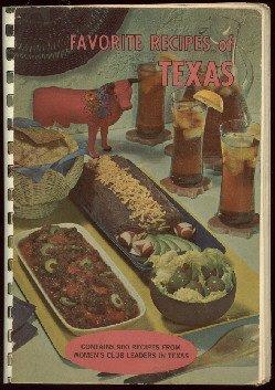 Favorite Recipes of TEXAS  Cookbook  1964