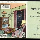 1957 Louis F. Dow calender panel for Fred. E. Sutton, Co.  Lawrence, Kansas FREE S/H