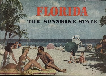 2 different Florida promotioal items from the 1950's