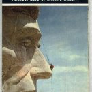 1967 South Dakota Official State Map    Mt. Rushmore  FREE S/H