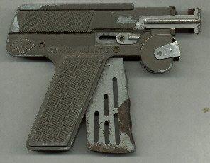 1940's Super - Numatic Air Popper Luger Pistol by LMCO  Cool Retro Paper Popper