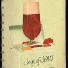 Joys of Jell-O  vintage 1963 recipe cookbook for General Foods gelatin desserts  FREE SHIPPING