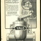 1916 Ad for Yale door closer    Pot Belly
