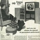 1950 RCA Victor television ad Giant 16 inch eye witness pictures   inset ad of Kukla, Fran and Ollie