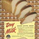 American Dairy Association 1950 Ad     Dry Milk