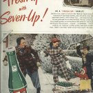 1950 7up ad   Friend of Family Fun   winter fun for the family