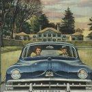 1950 Lincoln Cosmopolitan 2 page color car ad