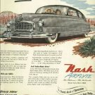 1950 NASH Ambassador / Statesman magazine ad Airflyte  artwork by Fred Freeman   Mesa Country