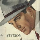 1950 Stetson Musketeer hat full page ad
