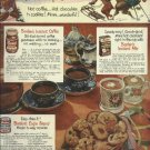 1950 Borden's full page ad   Elsie's Winter Warm-up Snack with Magic 6-way cookie recipe