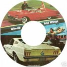 Ford Mustang and Thunderbird commercials on DVD