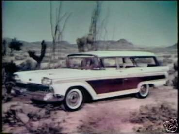 1957-1958-1959 Ford Commercials on DVD