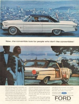 325 Ford Mercury Edsel Lincoln Ads on CD