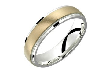 .925 Sterling Silver and 10kt Gold Inlay! Directly from the manufacturer- Design your own ring!