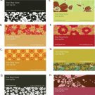 Whimsical and Fabulous Premade Business Cards - 500 cards