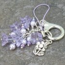 Spring Lilacs... Floral Accessory, Purse Hanger or Pendant - Your Choice
