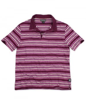 LUCKY BRAND JEANS MENS VINEYARD VINTAGE STRIPE COTTON POLO SHIRT SZ L NEW NWT