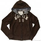 ABERCROMBIE & FITCH MENS KILBURN MOUNTAIN ZIP-UP HOODIE FLEECE SWEATSHIRT S NWT