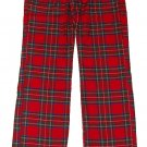 ABERCROMBIE & FITCH SARAH RED PLAID FLANNEL SLEEP PAJAMA PANTS S SMALL NEW NWT