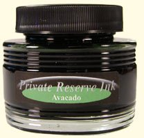Avacado Green Private Reserve Botttled Ink