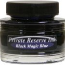 Black Magic Blue Private Reserve Bottled Ink