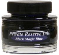 Black Magic Blue Private Reserve Bottled Ink