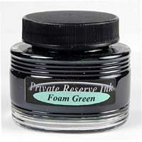 Foam Green Private Reserve Bottled Ink