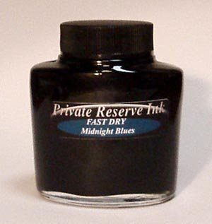 Midnight Blues Fast Dry Private Reserve Bottled Ink