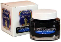 DC Supershow Blue Private Reserve Bottled Ink