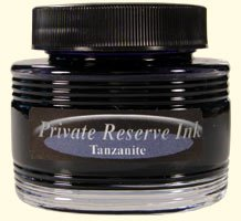 Tanzanite Blue Private Reserve Bottled Ink