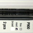 Parker Style Ballpoint Ink Refill Black Medium Point 2 Pack