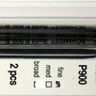 Parker Style Ballpoint Ink Refill Black Fine Point 2 Pack