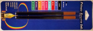 Private Reserve 888 Rollerball Fine Point Black Ink Refills 2 Pack