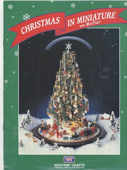 Westrim Beaded Christmas Tree 1993 Instruction Booklet