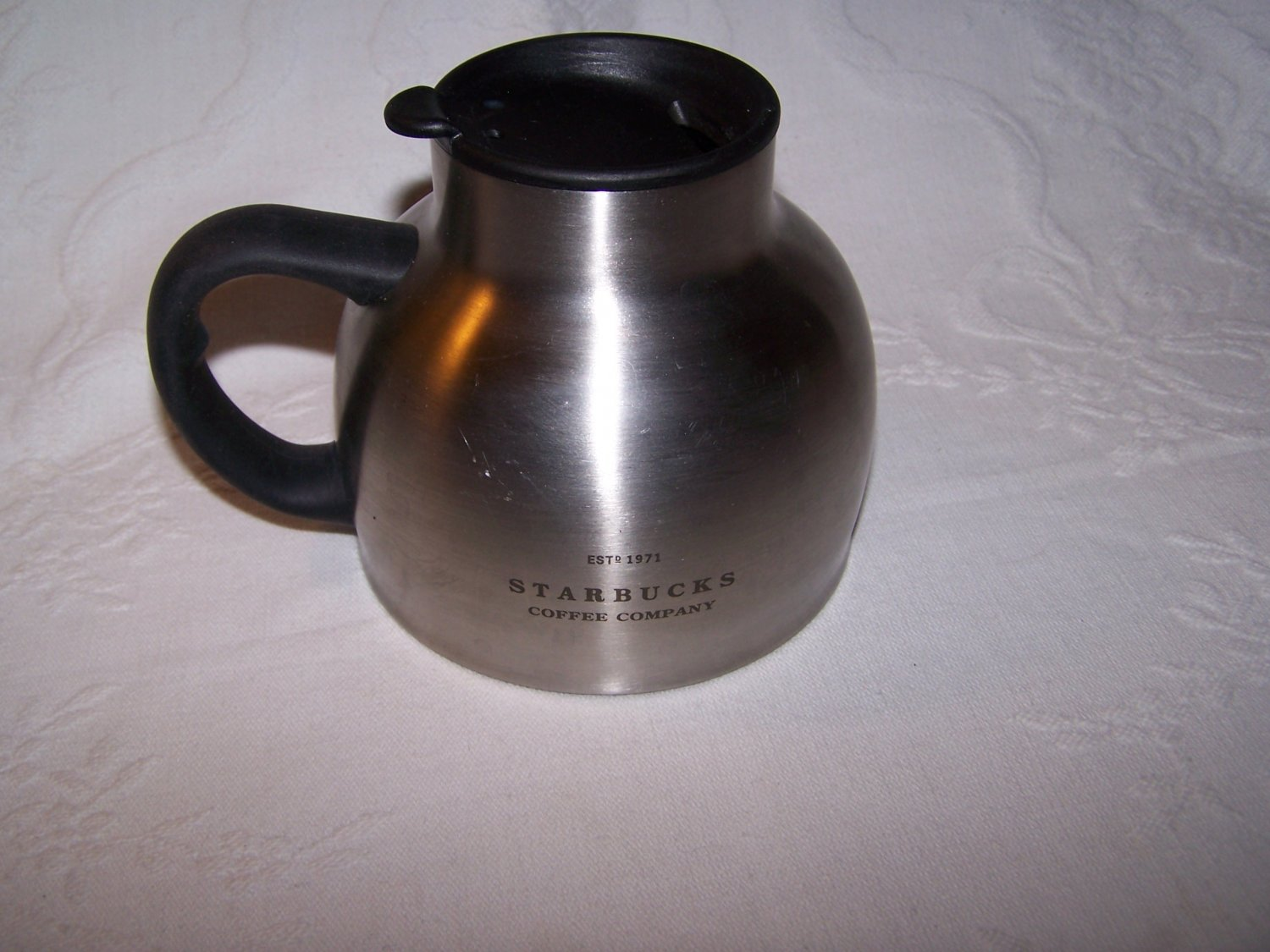 Criticising Starbucks stainless steel chubby mug