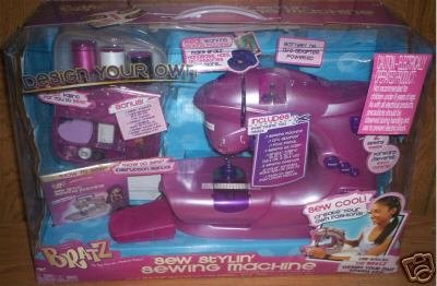 Bratz Real Working Sewing Machine Create Your Own New