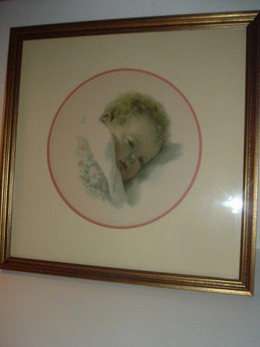 Bessie Pease Gutmann On Dreamlands Border Framed Print