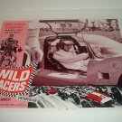 1968 Wild Racers Fabian Movie Theatre Lobby Card