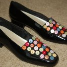 LifeStride Black Patent Leather Flats