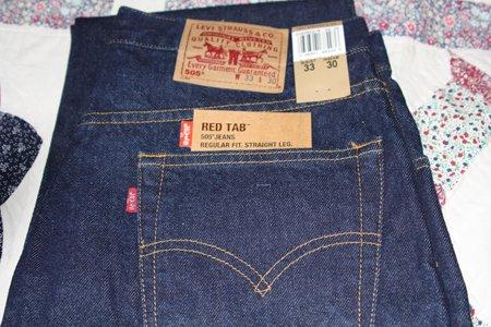Levi's Red Tab 505 Straight Leg Regular Fit ~New~