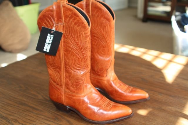 ~New~ Code West Distressed leather Western Boot Size 6.5 M