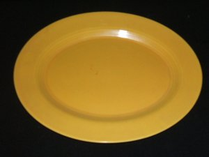Vintage Fiesta Harlequin Yellow Platter