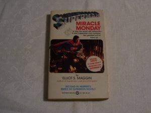 Superman Miracle Monday 1st Printing 1981 PB