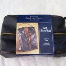 Golf Golfers NEW MEETING STREET BLACK GOLF SHOE BAG